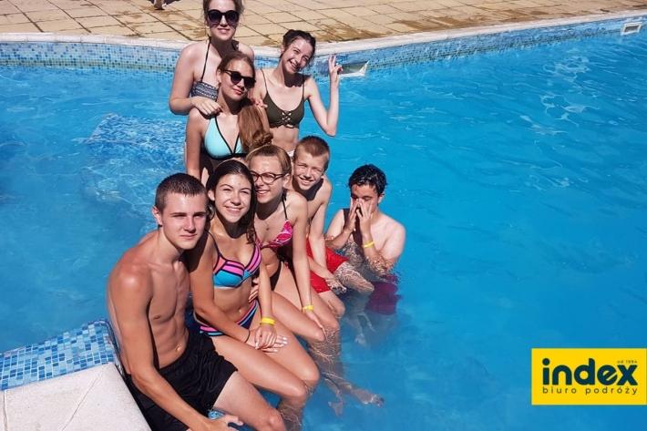 Obóz młodzieżówy - Złote Piaski - Dana Palace